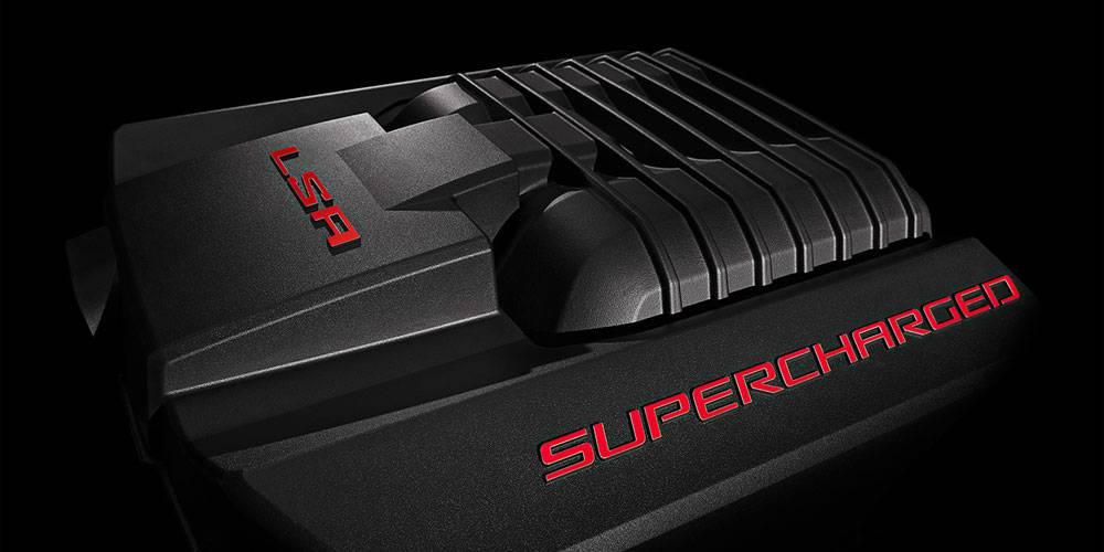 HSV Gen-F GTS Supercharged LSA Engine