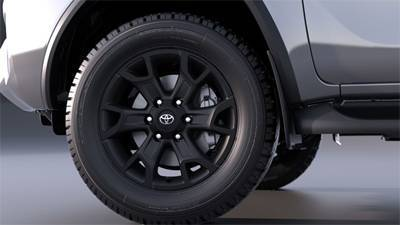 "18"" Alloy Wheels - Matte Blac"