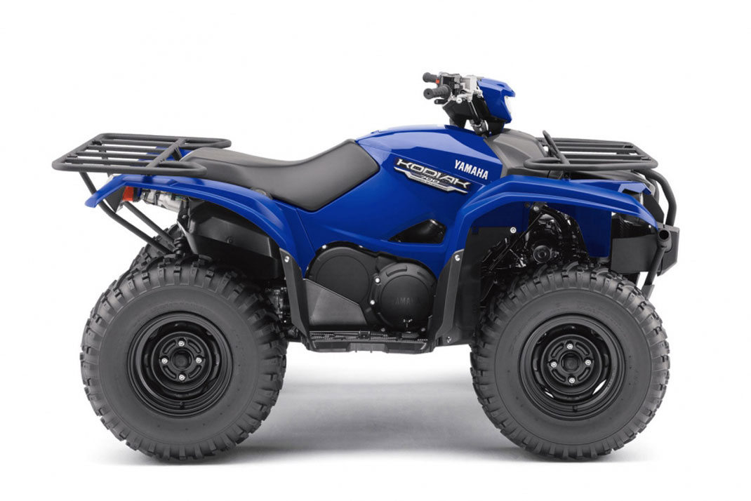 Yamaha Grizzly  Running Hot