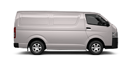 View our HiAce stock at Lugsdin Toyota